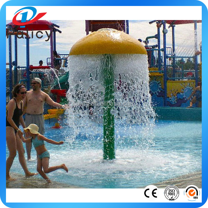 Beautiful Water Park Swimming Pool Spa Mushroom Water Fountain