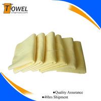 2016 export soft smooth pva car chamois cloth