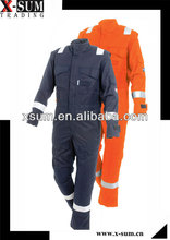 Inherently Aramid Fire Retardant Coverall for Welding/Pilot/Oil Rig