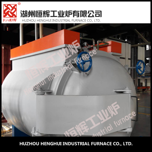 intelligent temperature control 150KW vacuum annealing furnace with Sealed radiation heating tube