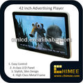 42 inch LCD LED Wall Mounting Advertising Kiosk with LAN WIFI 3G Internet Network