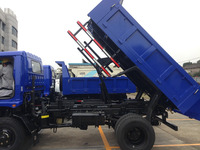 China foton forland 4x4 small light dump truck manufacture for sale