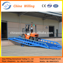 mobile warehouse dock levelers portable steel container ramp
