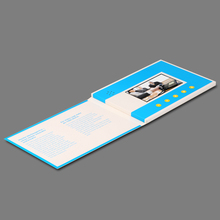 consumer electronics 4.3 inch video greeting card components ,video brochure card