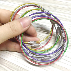 PVC/PU/PE/Nylon Transparent Coated Flexible Steel Wire Rope