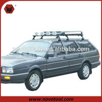 220MM Height Vehicle With Rain Gutters Fits Professional Car Side Bar 4x4 For Sale