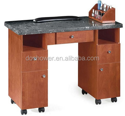 double nail table/nail dryer station/ portable nail table for nail salon furniture