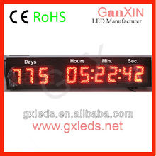 Large Led Display Digital Countdown Timer Clock for Christmas