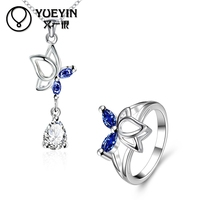 Unique fasionable hot sale leaf design wholesale costumized Jewelry sets