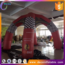 new design customized outdoor advertising inflatable spider tent for advertising and sale