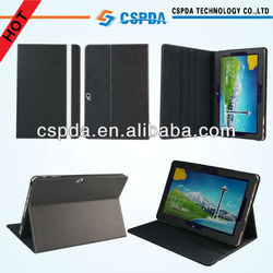 2013 Newest Design Black Stand Leather Tablet Case For Acer Iconia Tab W510 10.1 Tablet