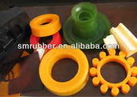 Custom Polyurethane PU Rubber Parts