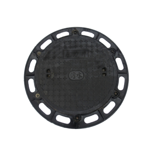 Manholecover heavy duty EN124  Circular manhole cover with diameter of 700mm cast iron manhole cover with frame