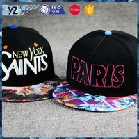 Main product unique design custom made snapback hat for 2015