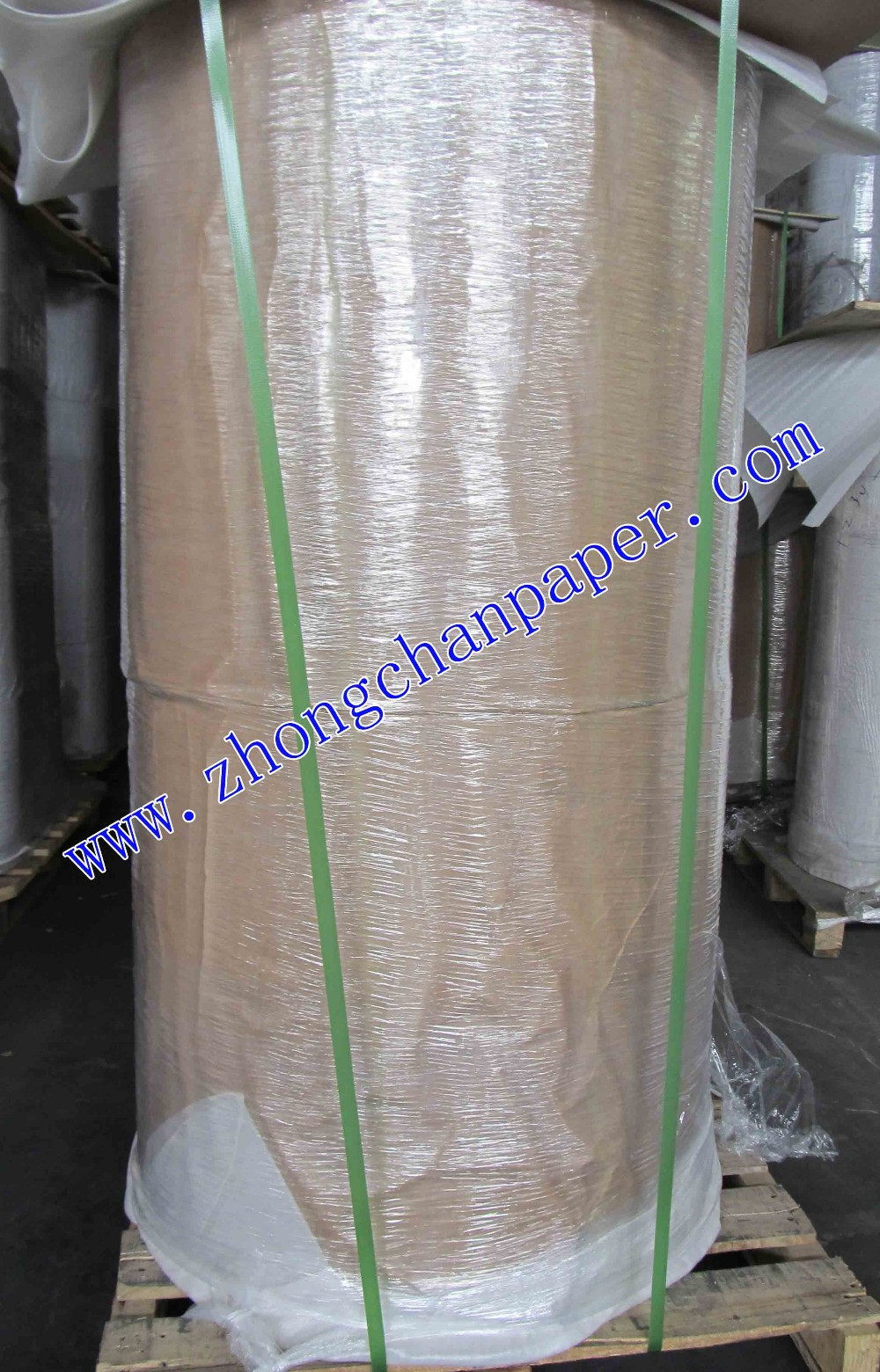 white/brown kraft paper in roll/sheet with polythelene coated
