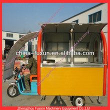 mobile fast food kitchen van for selling snacks