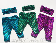 Color shiny Printed girl the little mermaid pants Cute Kids Pants Nice Gift Baby rubber Pants 0- 3 Years