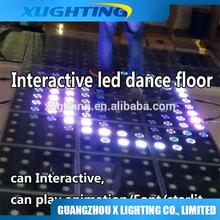Hot sales!price cheap interactive light weight led dance floor for disco xxx pohot