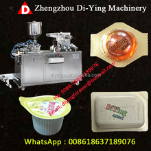 2017 DPP-80 Automatic Price Honey Jam Sauce Manual Small Blister Packing Machine