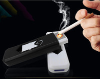 hot sale colorful cheap e lighter usb powered cigarette lighter