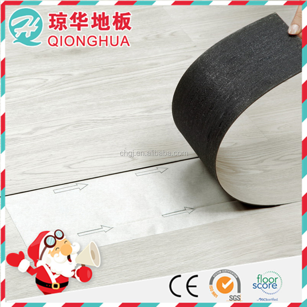 easy clean self adhesive recycled pvc flooring