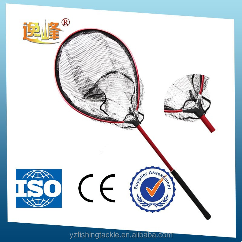 Different size rubber fishing nets