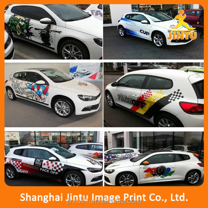 bus wrap/car body sheets/car sticker logo design