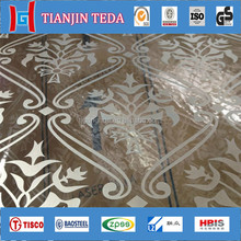 Decorative Stainless Steel Plate Sus304