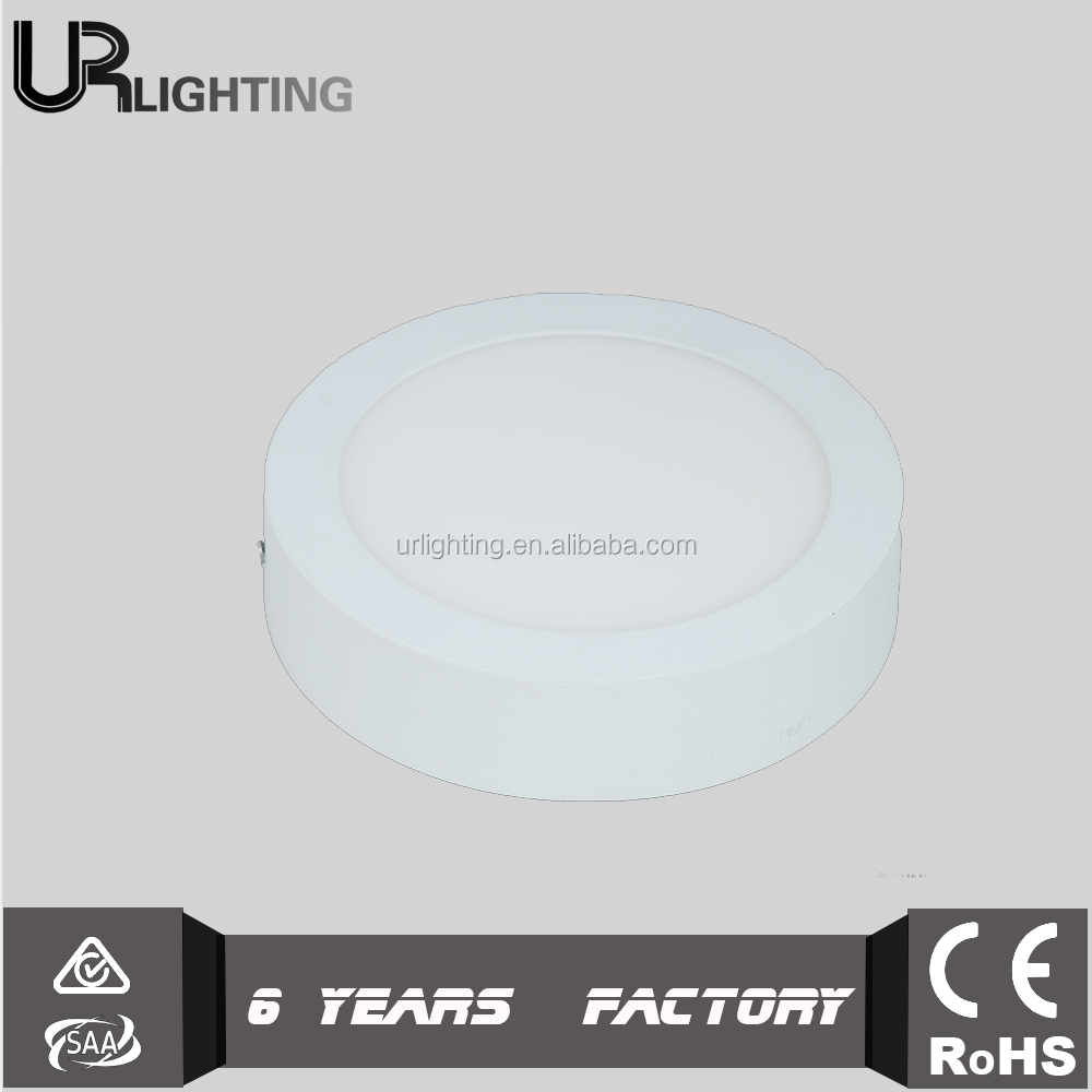 High quality battery powered standard sizes mini 12w led panel light