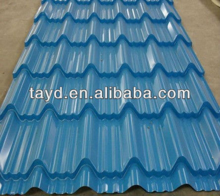 corrugated gi galvanized steel sheet fiber sheet for roofing and galvanized steel fence
