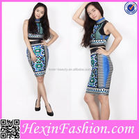 wholesale vintage sexy bandage dress