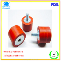Cylindrical m4 rubber fenders with srew