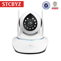 960P clear 2 way voice pan tilt baby monitor wireless with night vision