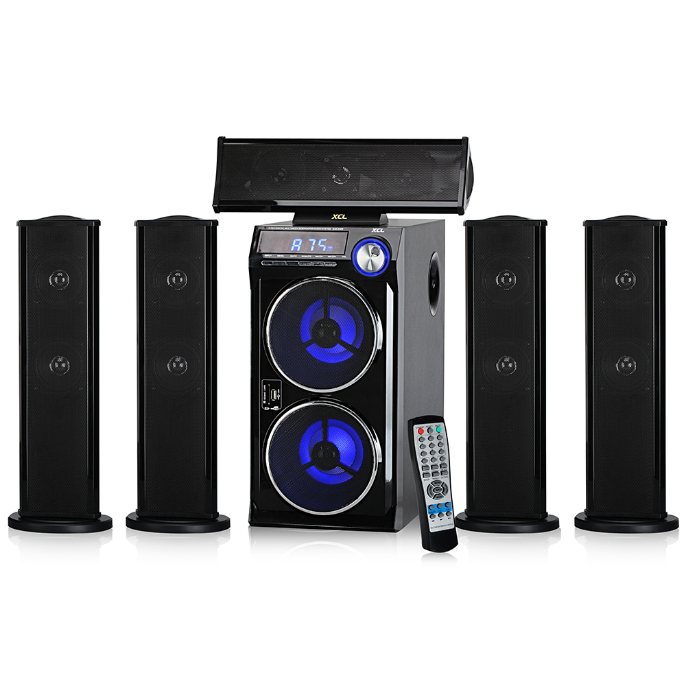 "high bass multimedia audio controller driver 6.5"" subwoofer home theater speaker"