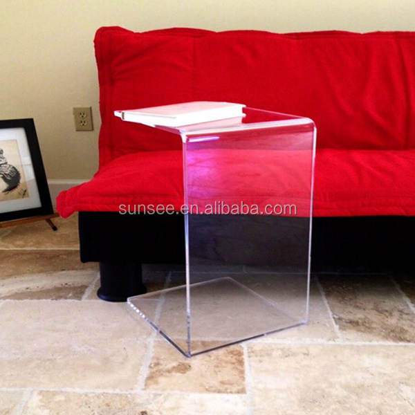 Eco-friendly Best quality low price safety acrylic end table for coffee