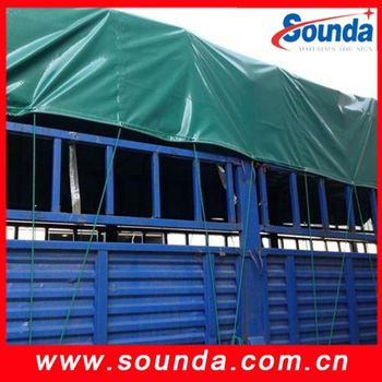 650gsm good quality Waterproof truck cover PVC coated Tarpaulin
