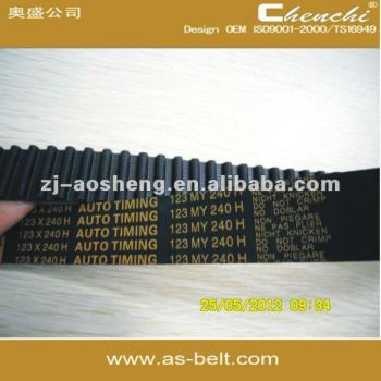 OEM 7700273650 CT988 96MR17 CR,EPDM,HNBR auto timing belt,