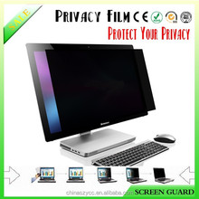Anti-peeping/anti-spy/privacy filter/screen protector for Laptop/PC/LCD/Notebook different sizes