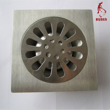 Best selling product stainless steel square 10x10cm sink drain