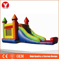 Inflatable Castle, colorful inflatable jumping castle blower