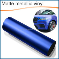 Auto metallic matt vinyl film for car color and protection