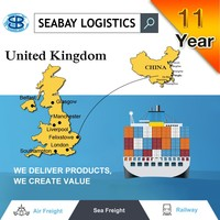 Sea freight forwarding service to UK