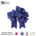 Custom satin gift decorating solid color ribbon hair bow