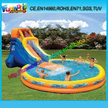 New China GuangZhou cheap inflatable water slides for sale