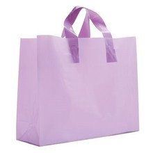 Square Bottom Eco-friendly Biodegradable OEM Plastic Shopping Carrier Bag Wholesale