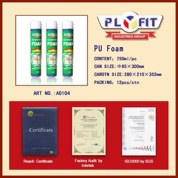 gap-filling large expansion heat-resistant PU Foam Sealant