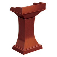 High quality modern wooden designs cheap church podium