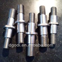 high grade steel threaded pin, connecting pin