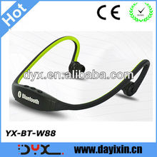 2013 best selling bluetooth headphone stereo sport wireless neckband headset with Microphone for running