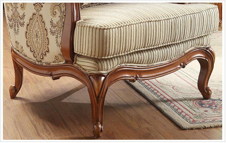 style am ricain classique en bois massif fini pour meubles de maison canap avec fabic n 223. Black Bedroom Furniture Sets. Home Design Ideas